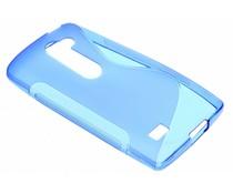 Blauw S-line TPU hoesje LG Leon