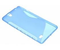 Blauw S-line TPU hoesje Sony Xperia C4