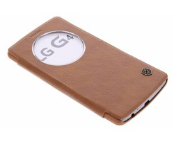 Nillkin Qin Window View Case LG G4 - Bruin