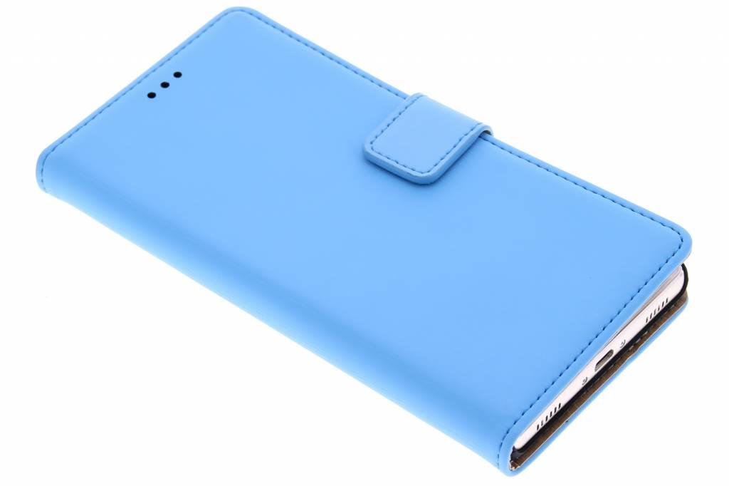 Mobiparts Premium Wallet Case voor de Huawei P8 - Light Blue