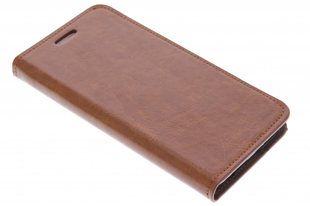 Cognac zakelijke booktype hoes voor de Samsung Galaxy S6
