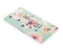 Design TPU siliconen hoesje Sony Xperia Z3 Compact