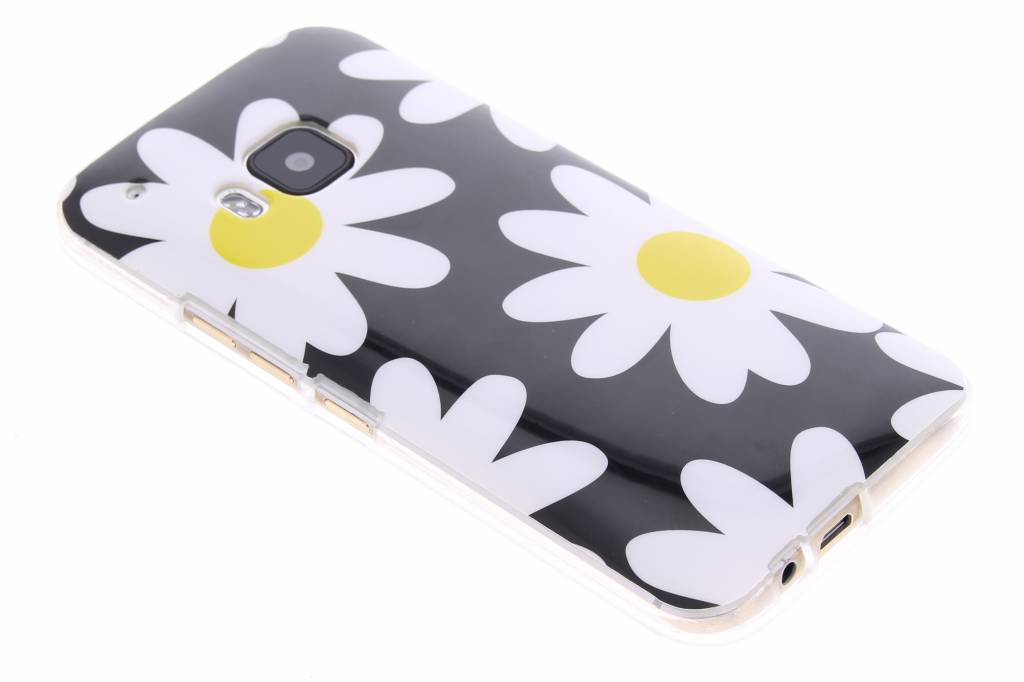 Bloemen design TPU siliconen hoesje voor de HTC One M9