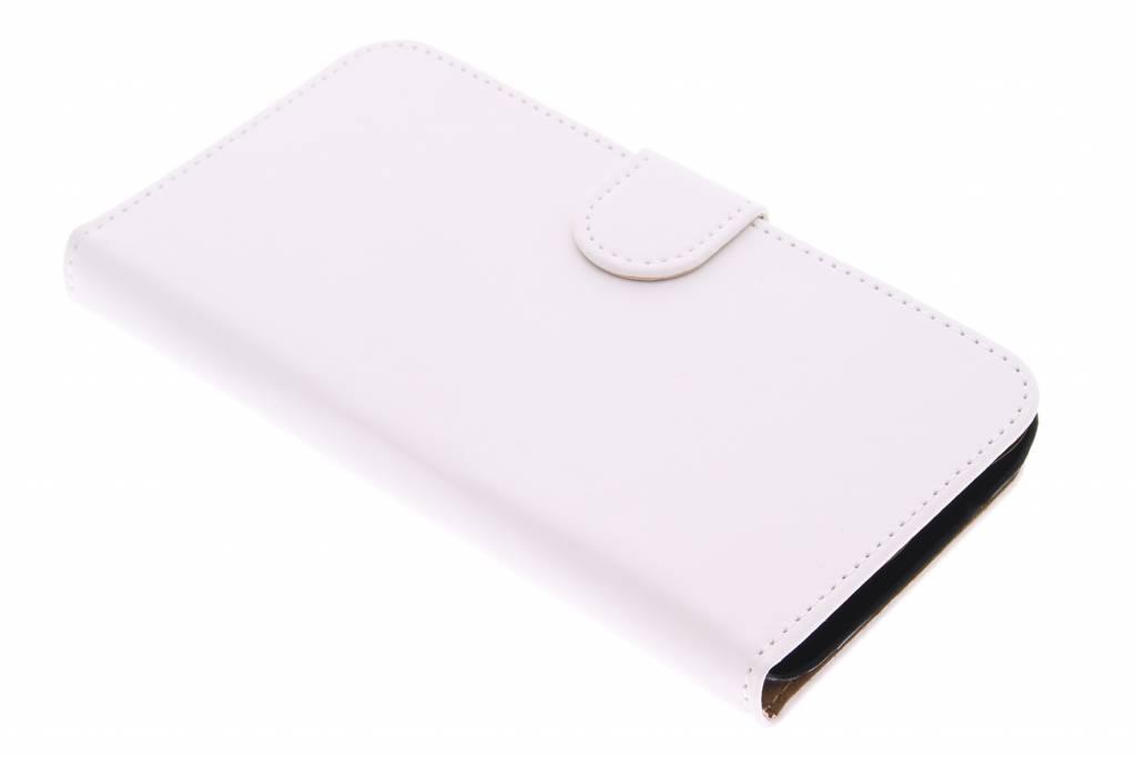 Witte effen booktype hoes voor de Samsung Galaxy J5