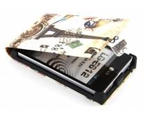 Design flipcase LG Optimus L5