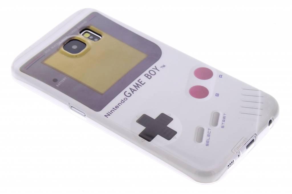 Game Boy design TPU siliconen hoesje voor de Samsung Galaxy S6