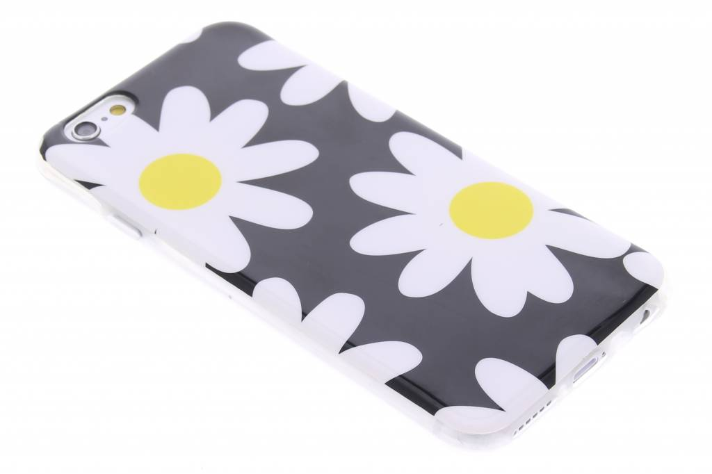 Bloemen design TPU siliconen hoesje voor de iPhone 6 / 6s