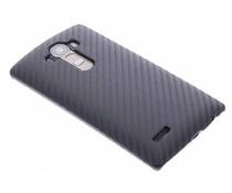 Zwart carbon look hardcase LG G4