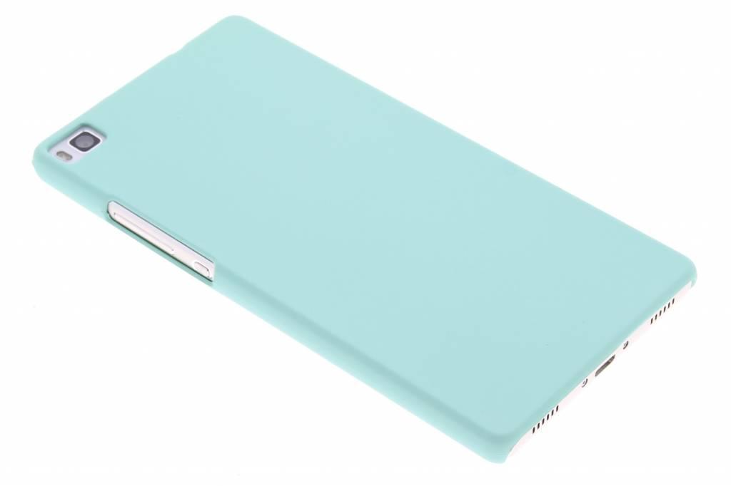 Mintgroen pastel hardcase hoesje voor de Huawei P8
