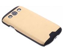 Brushed aluminium hardcase Samsung Galaxy S3 / Neo