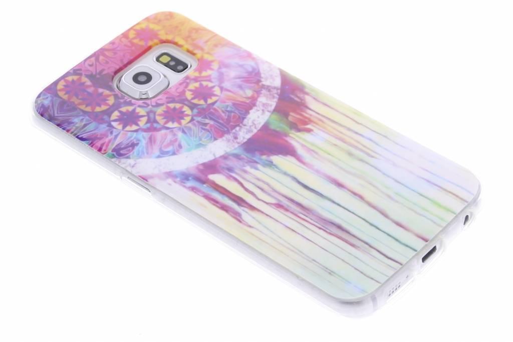 Dromenvanger design TPU siliconen hoesje voor de Samsung Galaxy S6 Edge