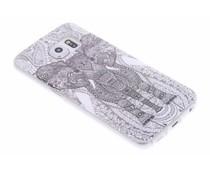 Design TPU siliconen hoesje Samsung Galaxy S6 Edge