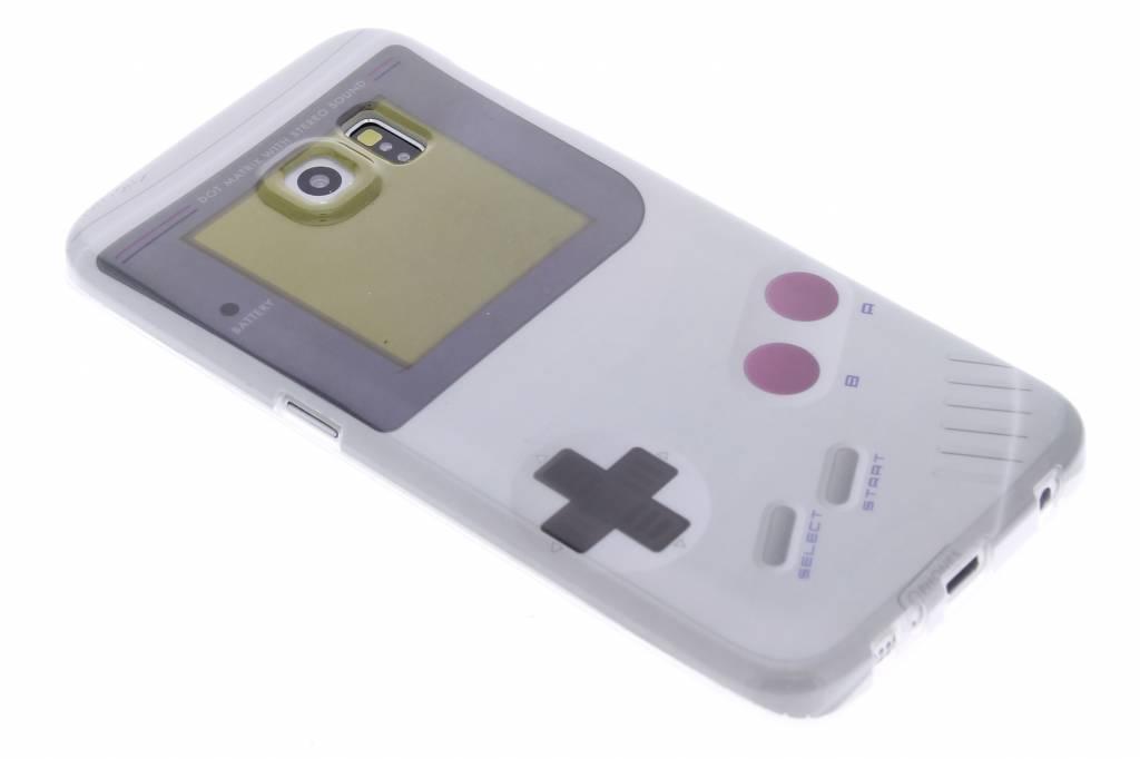 Game Boy design TPU siliconen hoesje voor de Samsung Galaxy S6 Edge
