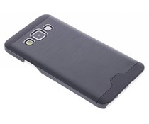 Zwart brushed aluminium hardcase Samsung Galaxy A3