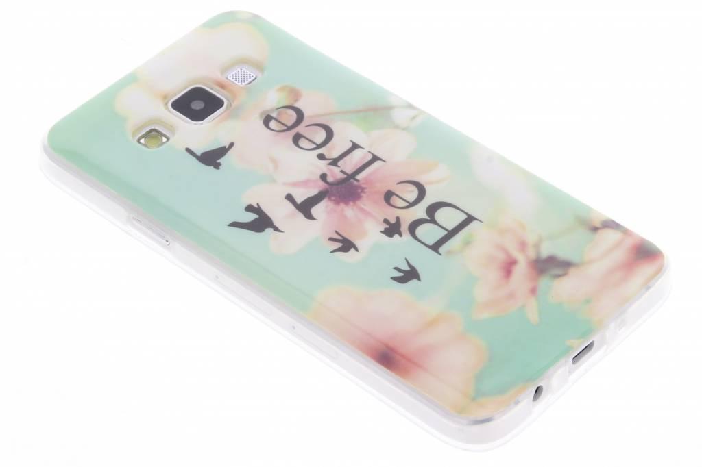 Be free design TPU siliconen hoesje voor de Samsung Galaxy A3
