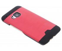 Rood brushed aluminium hardcase HTC One M9