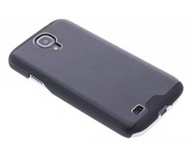 Zwart brushed aluminium hardcase Samsung Galaxy S4