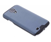 Blauw brushed aluminium hardcase Samsung Galaxy S4