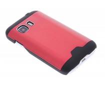 Brushed aluminium hardcase Samsung Galaxy Young 2