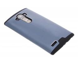 Blauw brushed aluminium hardcase LG G4