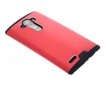 Rood brushed aluminium hardcase LG G4