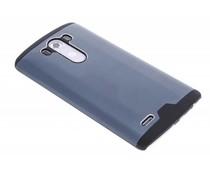 Blauw brushed aluminium hardcase LG G3