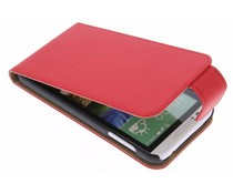 Rood classic flipcase HTC Desire 510