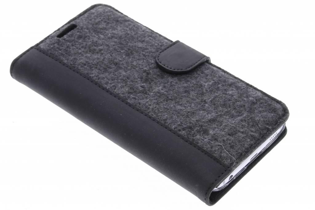 Valenta Booklet Raw voor de Samsung Galaxy S6 - Black