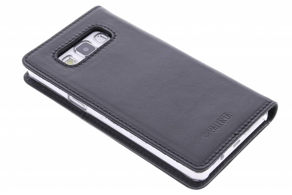 Valenta Booklet Nappa Wallet voor de Samsung Galaxy A5 - Black