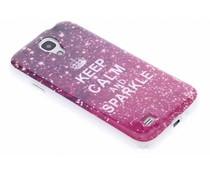 Design TPU siliconen hoesje Samsung Galaxy S4