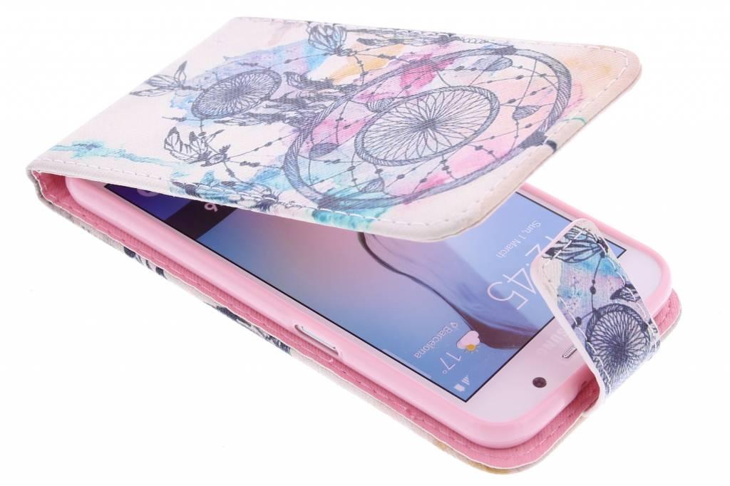 Dromenvanger design TPU flipcase voor de Samsung Galaxy S6