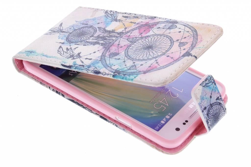 Dromenvanger design TPU flipcase voor de Samsung Galaxy A3
