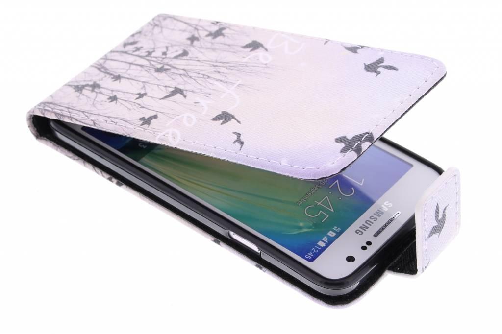 Be free design TPU flipcase voor de Samsung Galaxy A5