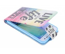 Design TPU flipcase Samsung Galaxy A5