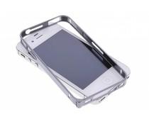 Grijs metalen bumper iPhone 4 / 4s