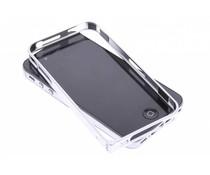 Zilver metalen bumper iPhone 4 / 4s