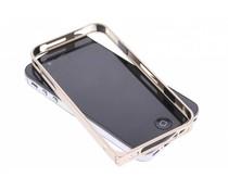 Goud metalen bumper iPhone 4 / 4s