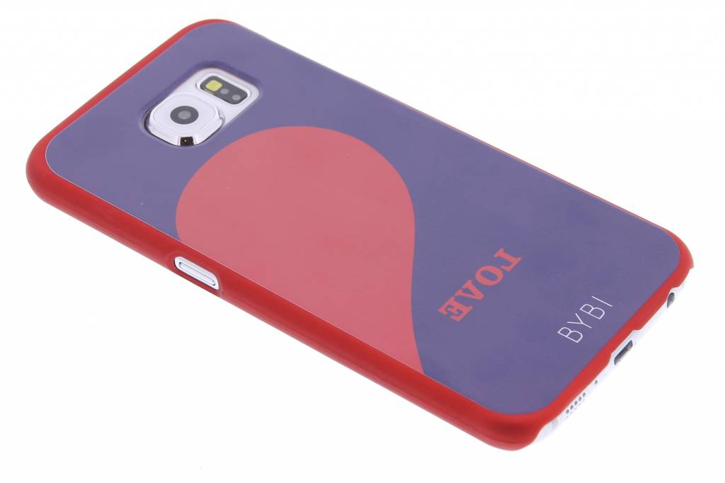 Image of Love Right Quote hardcase hoesje voor de Samsung Galaxy S6