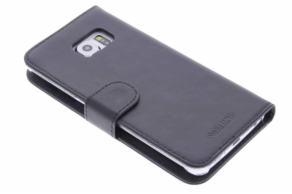 Valenta Booklet Classic Luxe voor de Samsung Galaxy S6 Edge - Black