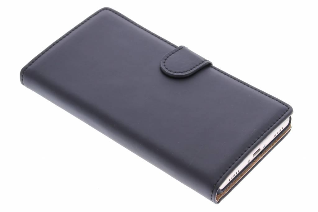Selencia Luxe Book Case voor de Huawei P8 - Zwart