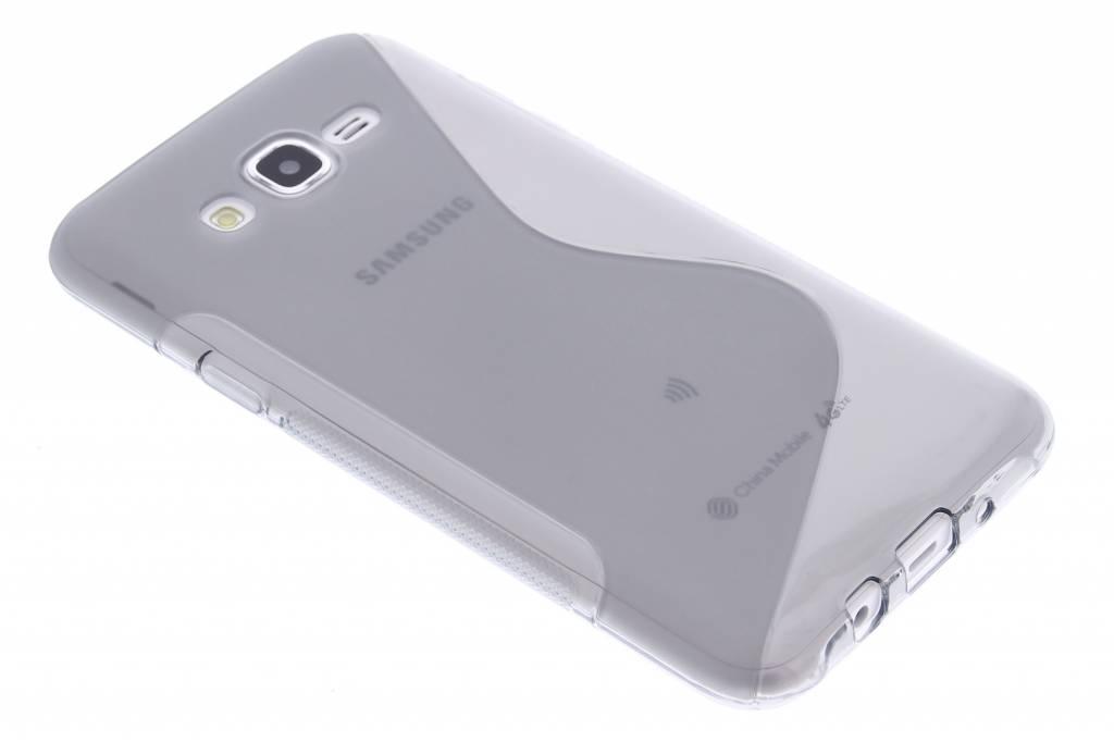 Grijs S-line TPU hoesje voor de Samsung Galaxy J7