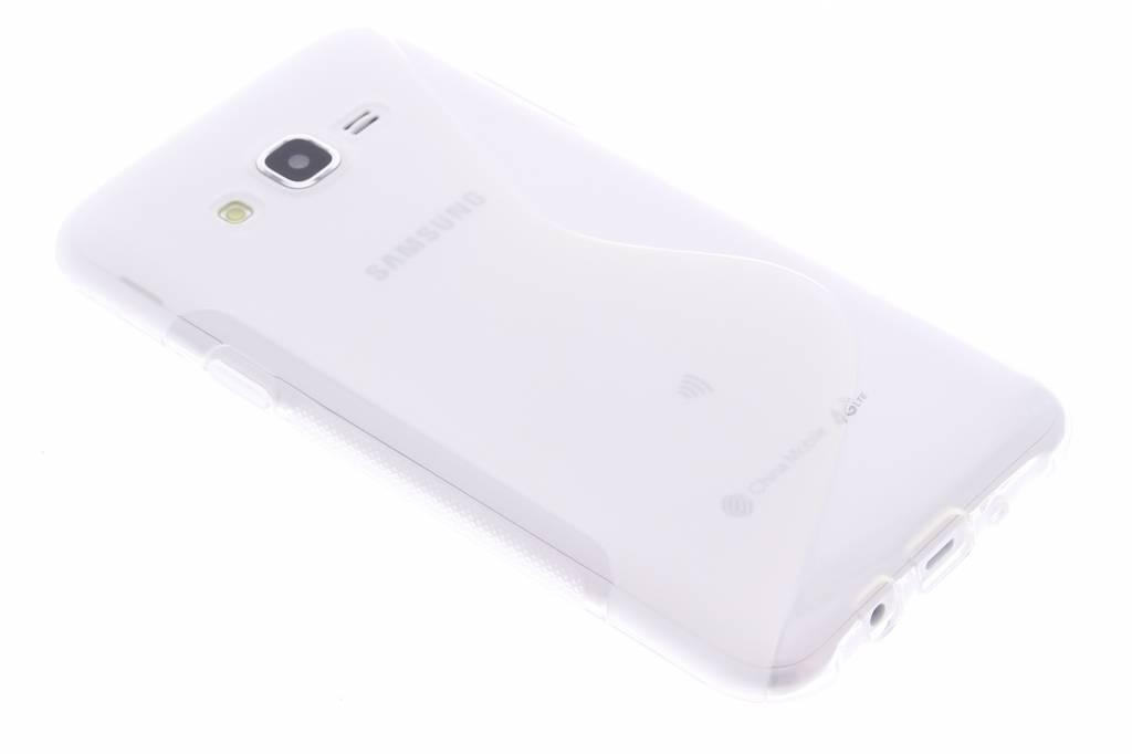 Transparant S-line TPU hoesje voor de Samsung Galaxy J7