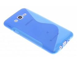 Blauw S-line TPU hoesje Samsung Galaxy J7