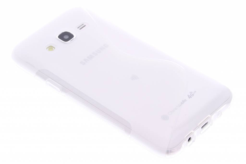 Transparant S-line TPU hoesje voor de Samsung Galaxy J5
