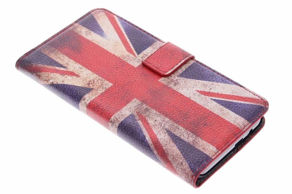Vintage Britse vlag booktype hoes voor de HTC One M9