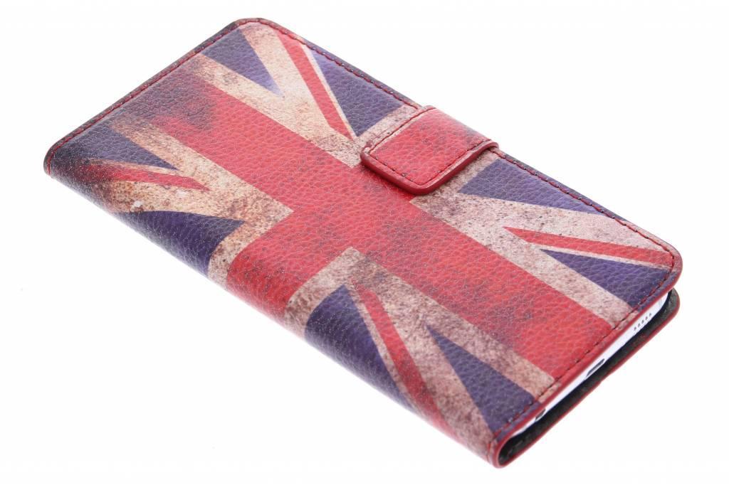 Vintage Britse vlag booktype hoes Samsung Galaxy S6