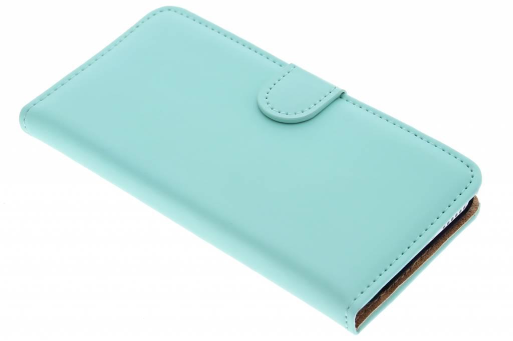 Luxe Book Case voor de iPhone 6 / 6s - Mintgroen