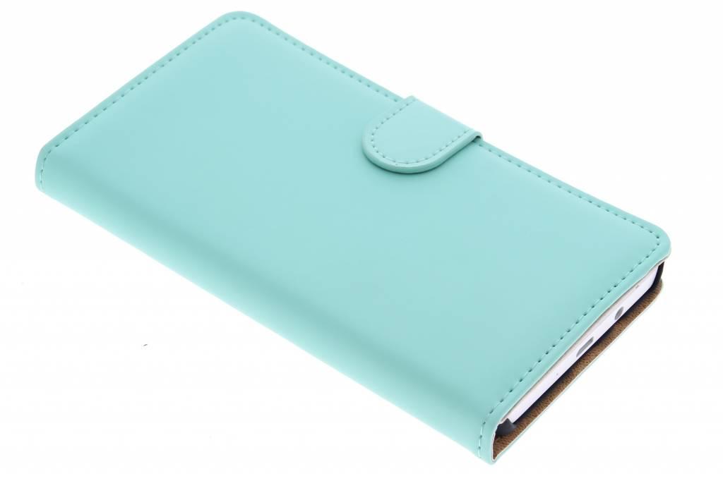 Selencia Luxe Book Case voor de Samsung Galaxy A5 - Mintgroen