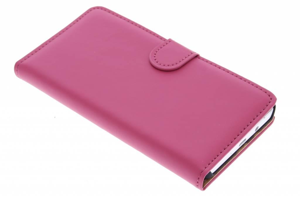 Selencia Luxe Book Case voor de Samsung Galaxy A5 - Fuchsia