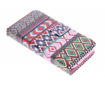 Design TPU booktype hoes Alcatel One Touch Pop C5